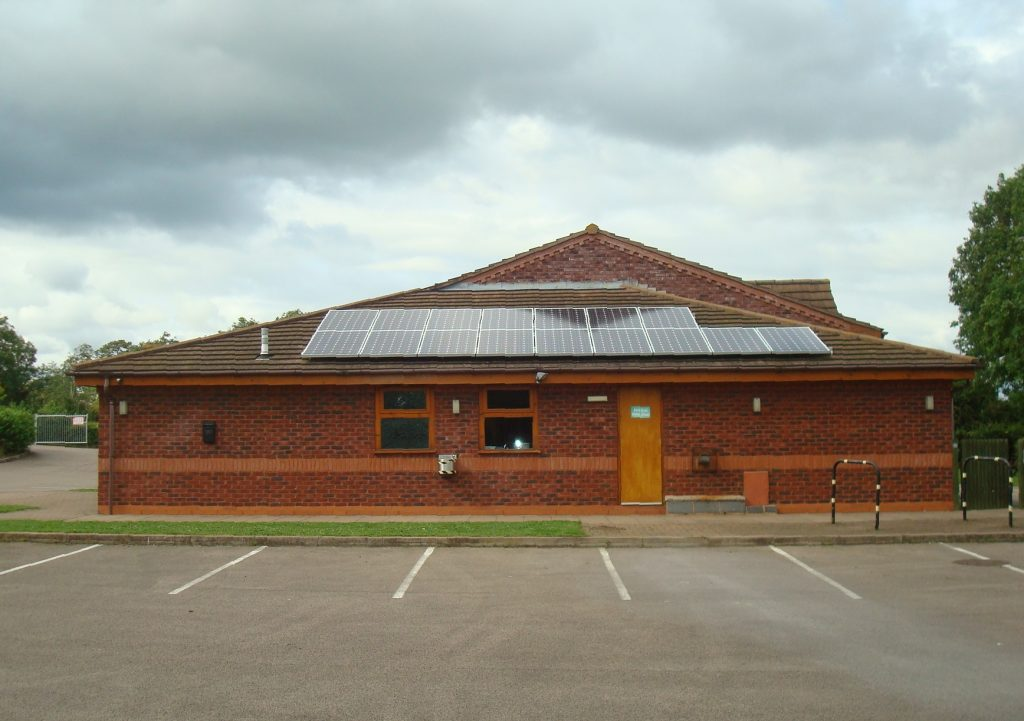 4kwp Solar Pv System Crowle Parish Hall Worcestershire