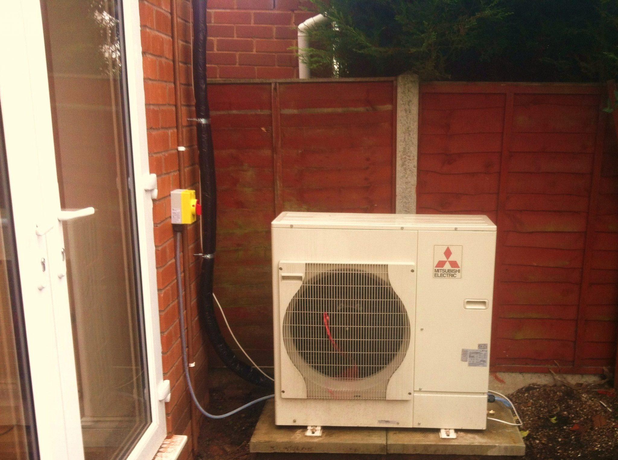 Air Source Heat Pump Kidderminster Worcestershire