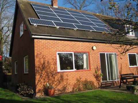 3 99kwp Solar Pv System Henley In Arden Warwickshire