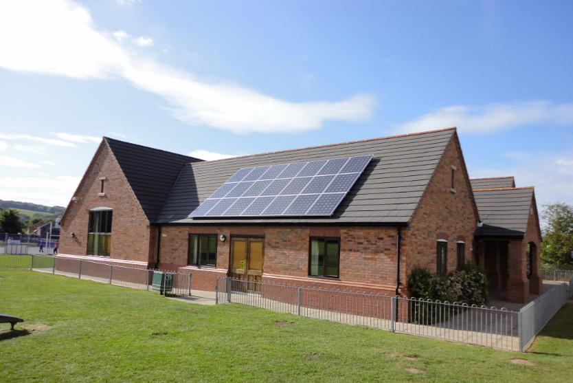 Solar PV Village Hall Stourport