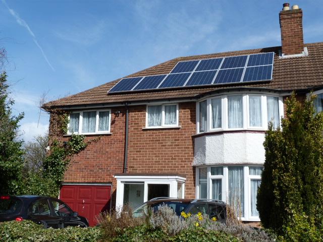 Solar electricity Birmingham