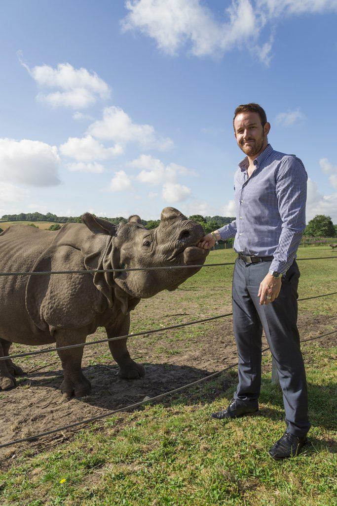 West Midlands Safari Park To Make Light Work For Rhinos