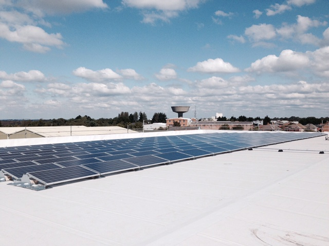 50kw Commercial solar pv installation